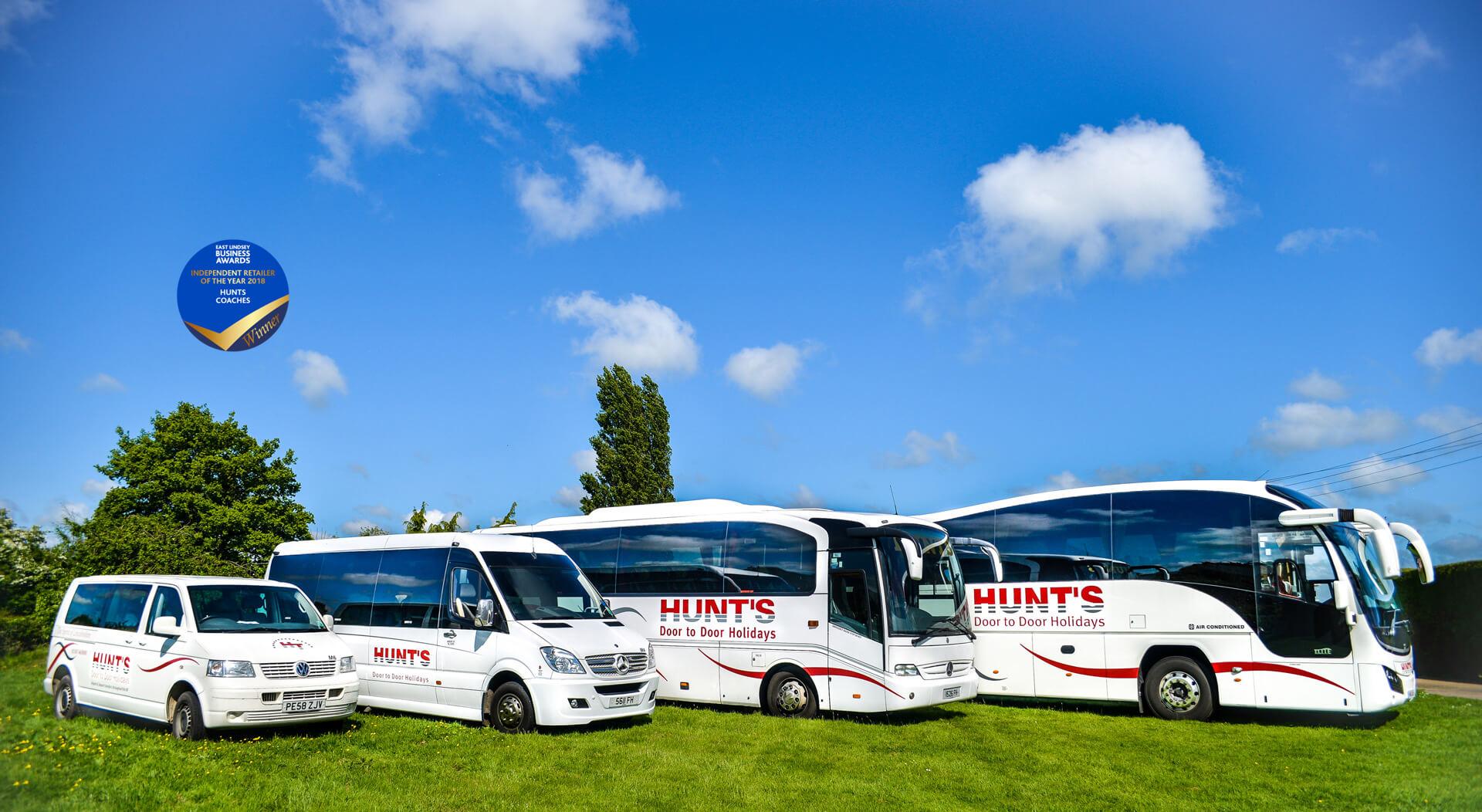 Hunts Coaches Lincolnshire